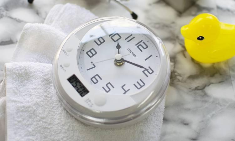 おしゃれで便利な「お風呂時計」の選び方