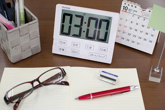 小学生・中高生・受験勉強に!どんなタイマーや時計がおすすめ?